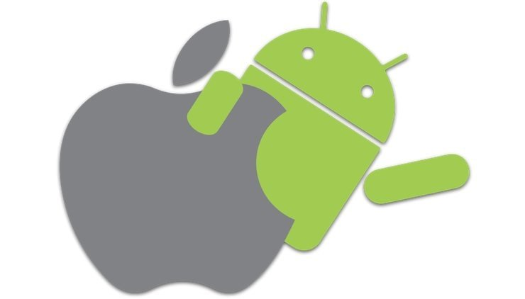 Android with iOS
